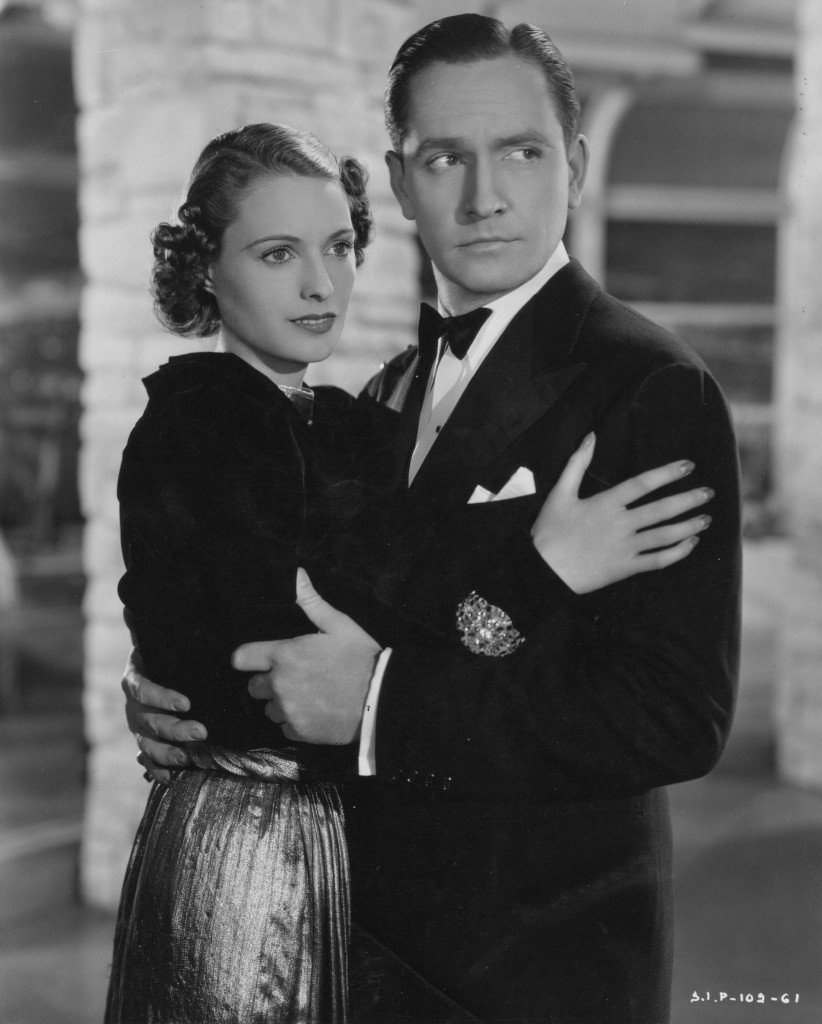 "Elizabeth Jenns and Fredric March in a production still from ""A Star is Born"" (Adam Gerace private collection)."