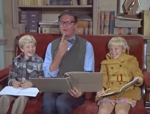 Harlen, Charles Nelson Reilly, and Kellie.