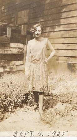Amelia Prato, Patricia's mother, in 1925 (Patricia Florio private collection).