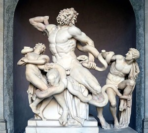 Laocoön and His Sons (via Wikimedia Commons).