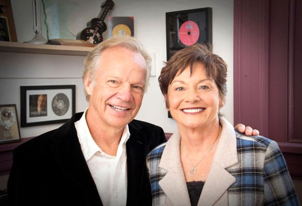 Bobby and Karen in 2011 (Photo: Bobby Vee official website).