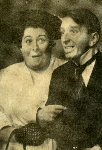Addie Black (with Jackie Brown in the special In the Soup) was a regular on The Delo & Daly Show (Photo: TV Week, Adelaide edition, May 17-23, 1961).
