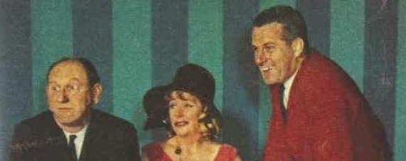 Bill Bain, Kitty Bluett, and Joe Hudson (Photo: The Australian Women's Weekly, November 13, 1963).
