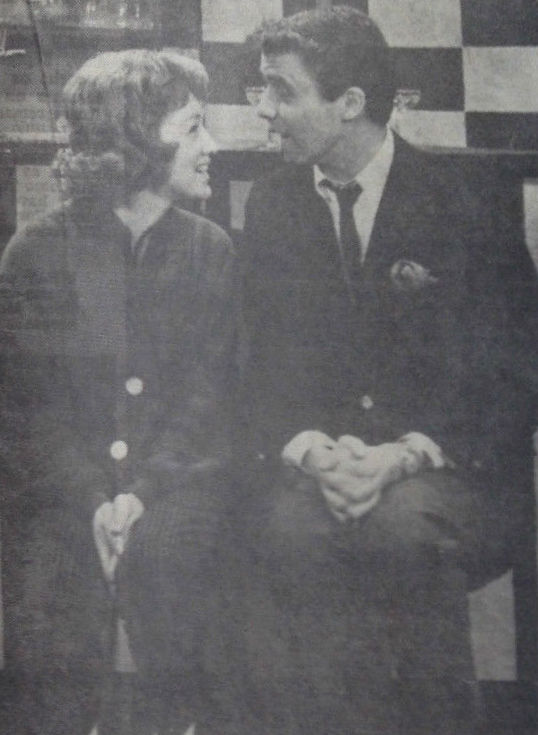 Elaine and Jonathan (Photo: TV Week, Adelaide edition, October 5-11, 1960).
