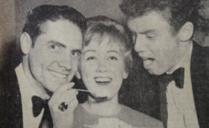 Ken and Jonathan with Elaine McKenna (Photo: TV Week, South Australia edition, December 21, 1963).