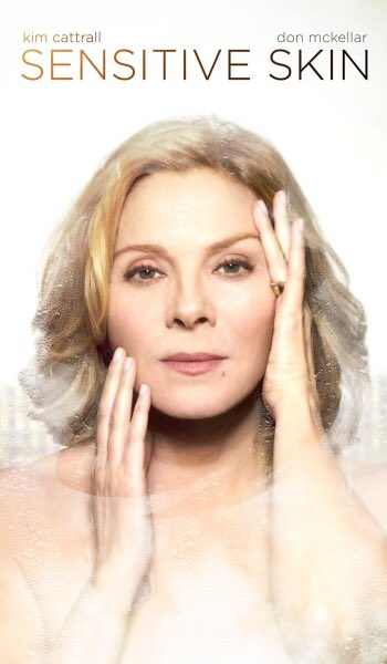Kim Cattrall in Sensitive Skin (Photo: Twitter).