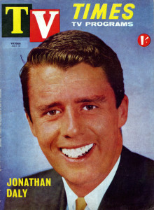 Jonathan on the cover of TV Times (Chris Keating private collection).