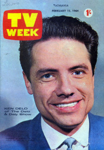 Ken on the cover of TV Week (Chris Keating private collection).