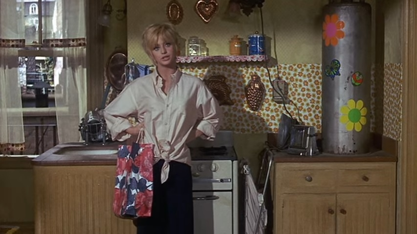 Goldie Hawn in my all-time favourite film, Cactus Flower.